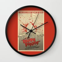 Death Proof Wall Clock