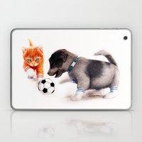 Red Vs. Blue Laptop & iPad Skin