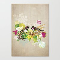 Tweet Tweet Canvas Print