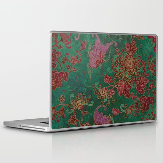 Chrysanthemum Garden Laptop & iPad Skin