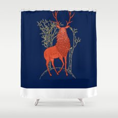 The Great Elk Shower Curtain