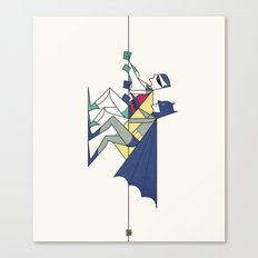 The POW! of love Canvas Print