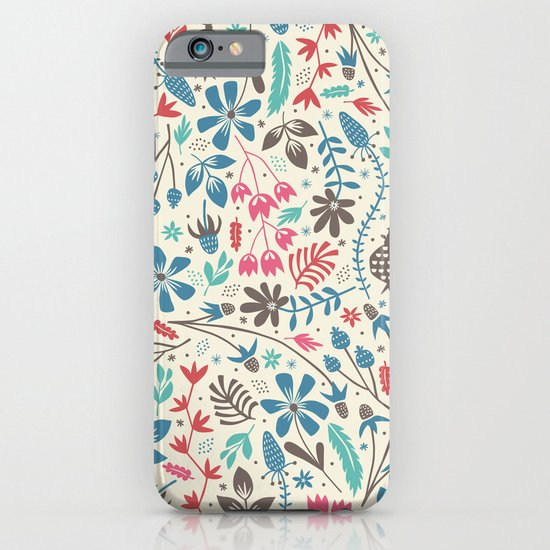 Retro Blooms iPhone & iPod Case
