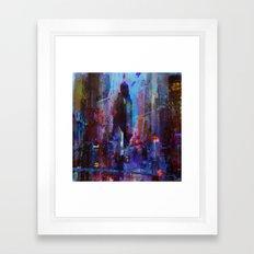 Slice Of The City Framed Art Print