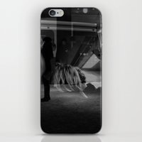 Hanging In Light iPhone & iPod Skin