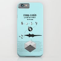 iPhone & iPod Case featuring Food chain by Madame Potpourri