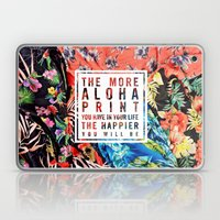 Aloha Print Life Laptop & iPad Skin