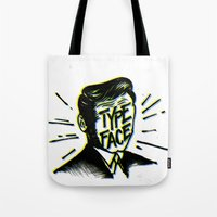 Typeface Tote Bag