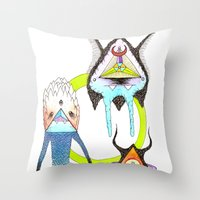 The Wildfire Connection Throw Pillow