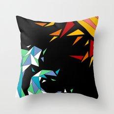 Sun and Wave Throw Pillow
