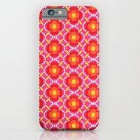 Retro happy bright floral 3 iPhone 6 Slim Case