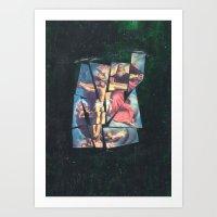 jesus Art Prints featuring Jesus by Ibbanez