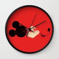 Deconstructing Mickey Wall Clock
