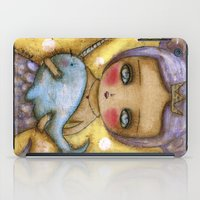Narwhal Love iPad Case