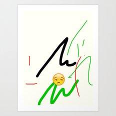 jh Art Print