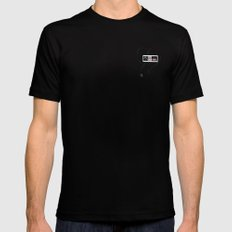 NES Mens Fitted Tee Black SMALL