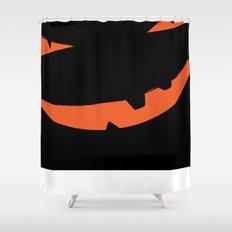 Halloween Pumpkin face pumpkinhead Shower Curtain