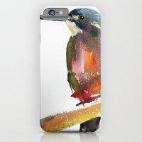Azure Kingfisher iPhone 6 Slim Case