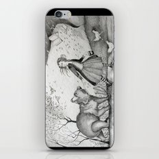 Storms, Bears, Berries, Birds, and Leaflings iPhone & iPod Skin