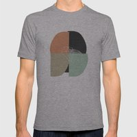Untitled_02 Mens Fitted Tee Athletic Grey SMALL