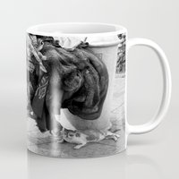 homeless cat Mug