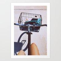 Bike Rides Art Print