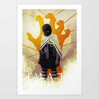 MISGUIDED FANATICISM Art Print