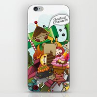 Chestnut Katamari iPhone & iPod Skin