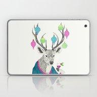 Mr. Deer Gets Festive  Laptop & iPad Skin