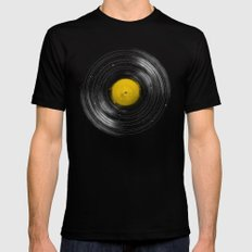 Sound System Black Mens Fitted Tee SMALL