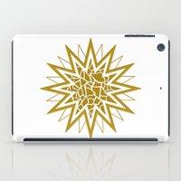 Star (gold) iPad Case