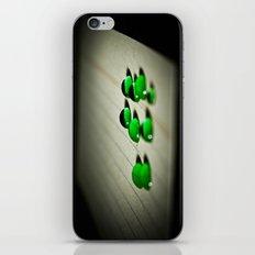 Emerald Rain iPhone & iPod Skin