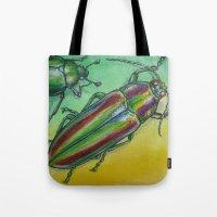 Shinny Beetle Tote Bag