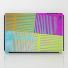Di-simetrías Color iPad Case