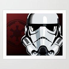 Empire Stormtrooper Art Print