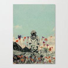 Lonely Diver Canvas Print