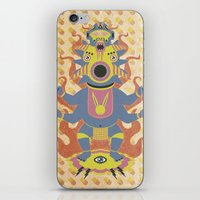 They Came From The Brain iPhone & iPod Skin