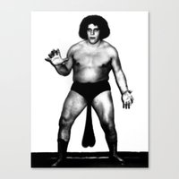 Andre's Giants Canvas Print