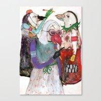 Groupuscule Moinards Canvas Print