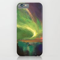 iPhone & iPod Case featuring Aurora Borealis by Michael Creese