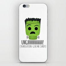 Frankenstein Wants Candy iPhone & iPod Skin