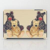 Teddy Bears - Bandit and Edward iPad Case
