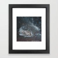 The Deer Spirit Framed Art Print