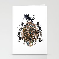 Super Aliens³ Resurrection Stationery Cards