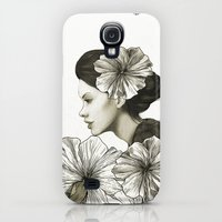 Galaxy S4 Cases featuring ride by Laura Graves