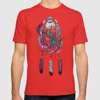 The Dream Catcher Mens Fitted Tee Red SMALL