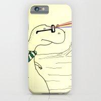 Hipster Laser Dinosaur iPhone 6 Slim Case