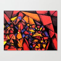 Canvas Print featuring Untitled by Rishi Parikh