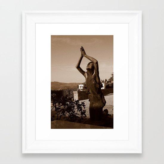 Lifted High Framed Art Print