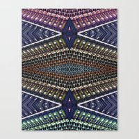 Mixer Matrix  Canvas Print